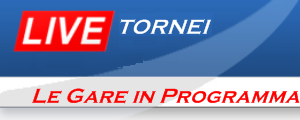 partite tornei in programma